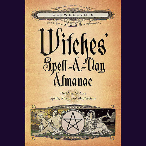2022 Witches' Spell-A-Day Almanac ~ Available July 2021 | SmokyMountainBeads.com