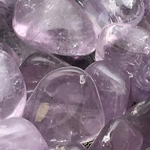 Lavender Amethyst Tumbles • Brazil • Medium