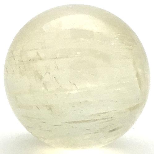 Icelandic Spar 'Optical Calcite' Sphere • Brazil • 75.2 grams ~ 37.9mm