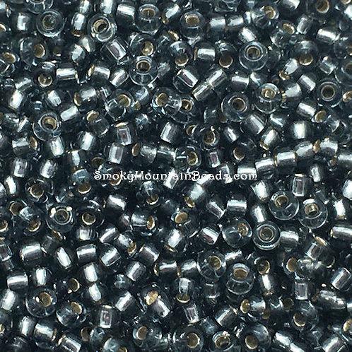 11-21 Silver-Lined Gray 11/0 Miyuki Seed Beads   SmokyMountainBeads.com