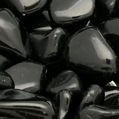 Black Obsidian Tumbles • Mexico • Medium