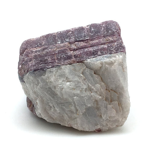 Pink Tourmaline (Rubellite) Aquamarine • Brazil • 51.0 grams ~ 41x29x22mm