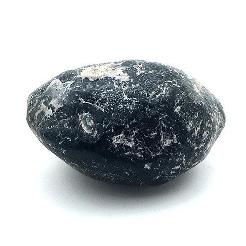 Apache Tear Obsidian Rough • 65.6 grams ~ 51x38x29mm • 90100ATo-65-6 | SmokyMountainBeads.com