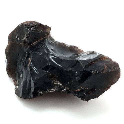 Apache Tear Obsidian Rough • Mexico • 272.5 grams ~ 104x66x47mm