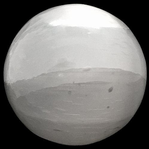 Selenite Sphere • Africa • 70.7 grams ~ 38.6mm