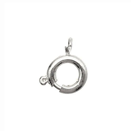 Spring Ring Clasp  • 7mm • 44SR-1007-11   SmokyMountainBeads.com