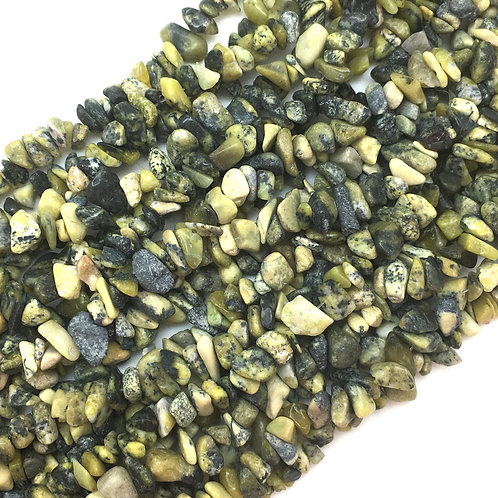 "Serpentine Chip Beads • 34"" Strand"