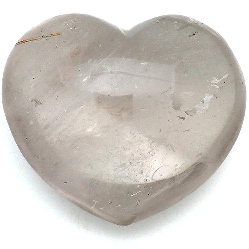 Smoky Quartz Heart • Madagascar • 389.9 grams ~ 39x78x46mm