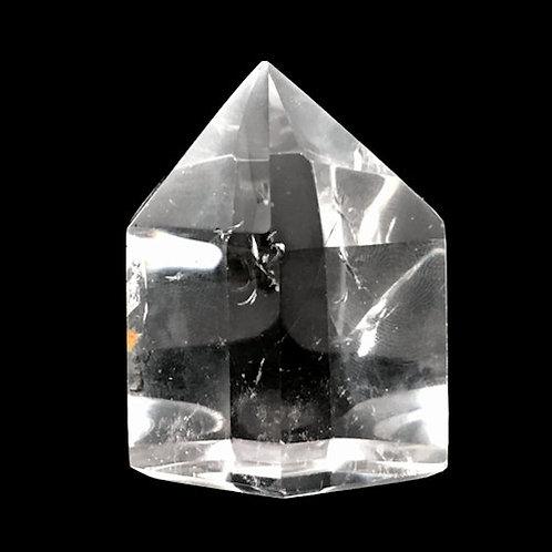 Quartz Prism Point • 57.9 grams ~ 43x33x30mm • 51400QCPP-57-9 | SmokyMountainBeads.com