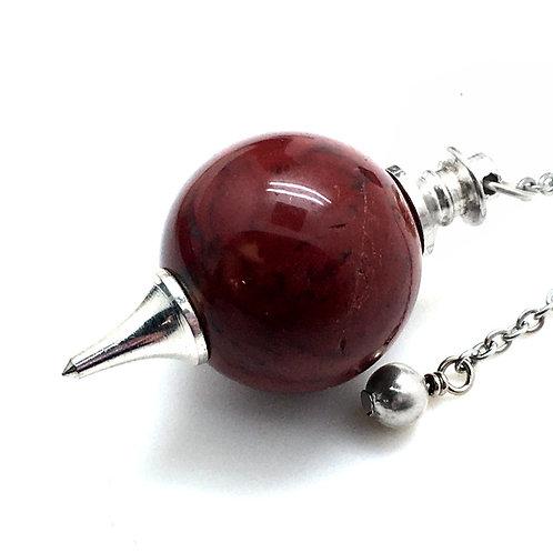 Fancy Jasper Pendulum • 21.0 grams ~ 43x23mm
