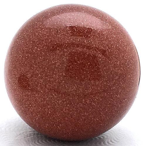 Goldstone Sphere • China • 20-21mm