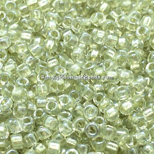 11-707 Mint-Lined Crystal 11/0 Seed Beads | SmokyMountainBeads.com