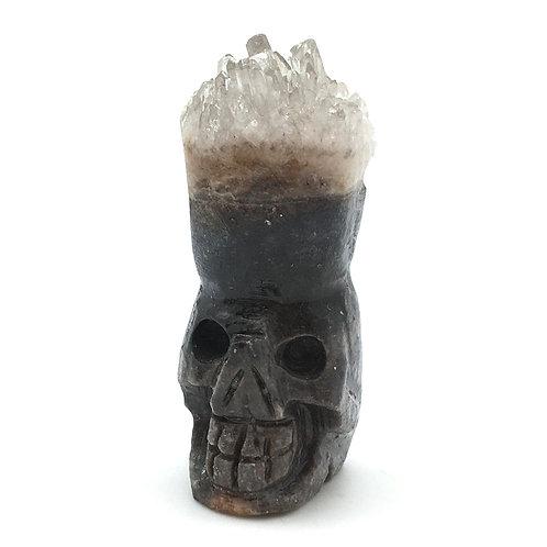 Quartz Cluster Skull • Brazil • 101.1 grams ~ 71x35x29mm