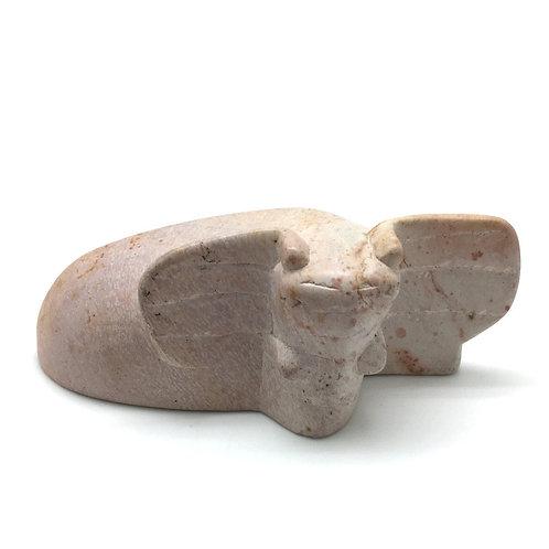Kisii Stone Elephant • Kenya • 359.6 grams ~ 137x70x46mm 87100ELE-KS-159-6