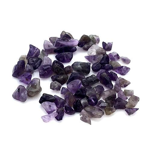 Amethyst Mix Chip Beads • 10 grams • 150000AMT-10   SmokyMountainBeads.com