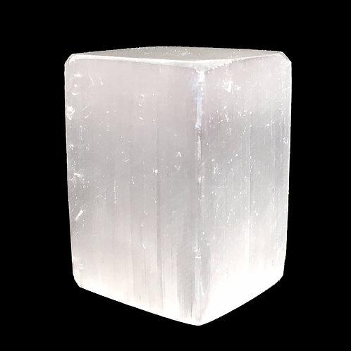 Selenite Block • Africa • 129.4 grams ~ 52x35x33mm