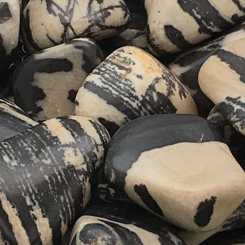 Nguni Jasper Tumbles • South Africa • Large