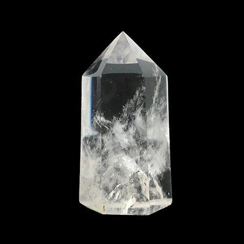 Quartz Prism Point • 67.2 grams ~ 59x31x24mm • 51400QCPP-67-2 | SmokyMountainBeads.com