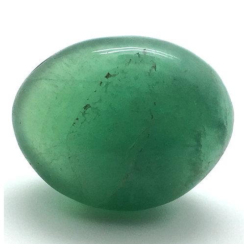 Phosphorus Fluorite Palm Stone • Mexico • 133.3 grams ~ 67xs50x22mm