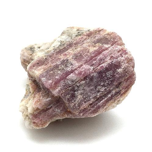Rubellite Pink Tourmaline Rough • Brazil • 25.7 grams ~ 33x30x24mm