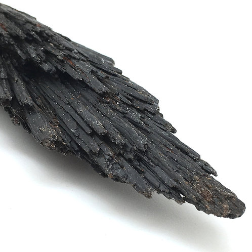 90100KYBBF Black Kyanite Fan 53.9 grams ~ 103x33x18mm