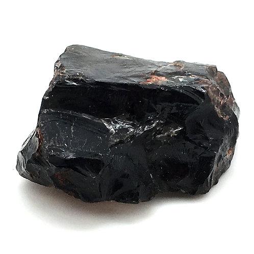 Apache Tear Obsidian Rough • Mexico • 122.1 grams ~ 71x57x31mm
