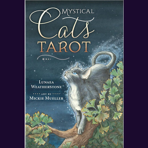 Mystical Cats Tarot Kit | SmokyMountainBeads.com