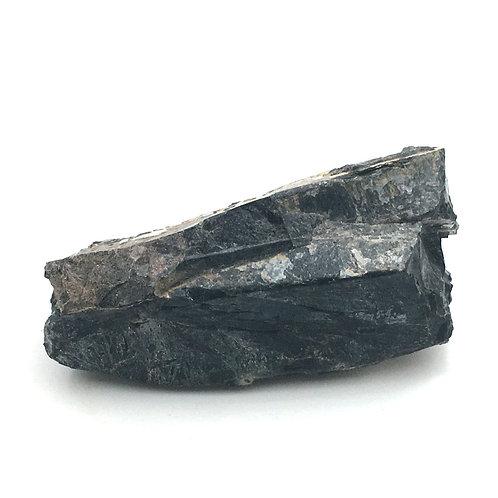 Black Obsidian Rough • 366.8 grams ~ 118x54x47mm • 90100oBB-366-8 | SmokyMountainBeads.com