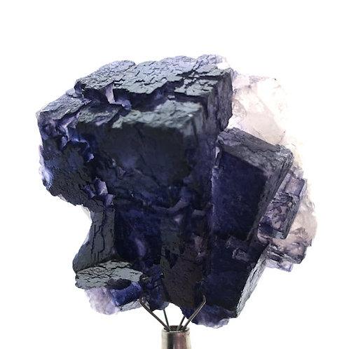 Cubic Fluorite • Muzquiz, Mexico • 38.1 grams ~ 42x42x23mm
