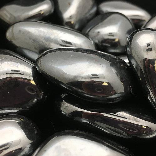 Hematite Tumbled • Brazil • Extra-Large