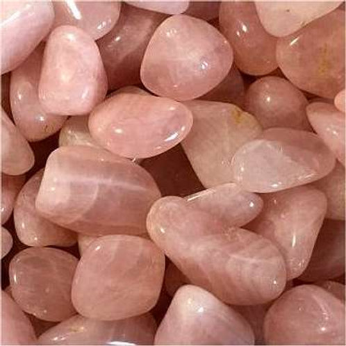 Rose Quartz Tumbles • Namibia • Medium