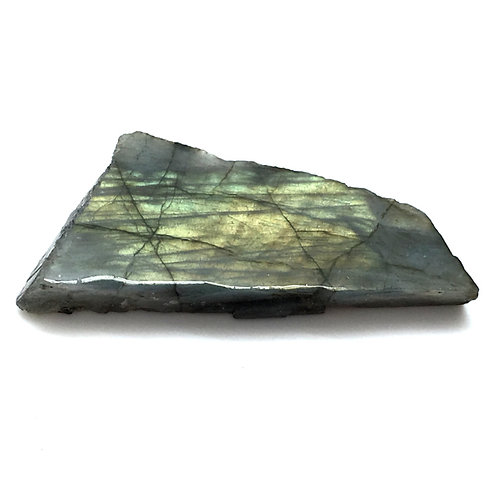 Labradorite Slab Polished Face • Brazil • 69.2 grams ~ 91x42x13mm