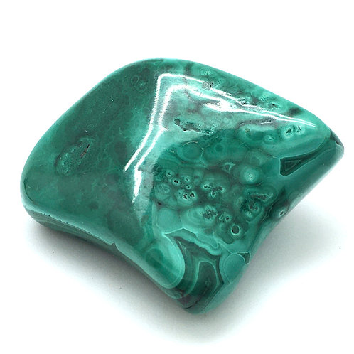 Malachite Nugget • Congo • 43.8 grams ~ 35x32x19mm | smokymountainbeads