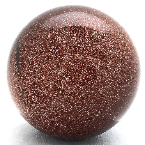 Goldstone Sphere • India • 167.3 grams ~ 50.0mm