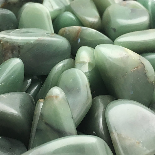 Green Chert Tumbles • South Africa • Small