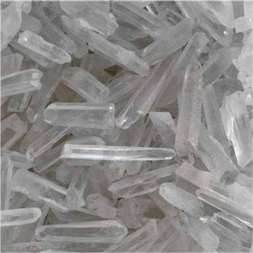 Crystal Quartz Tiny Points ~ Some Lemurian ~ Some Sing