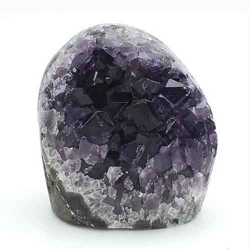 Amethyst Cut-Base Geode • Uruguay • 202.5 grams ~ 54x53x49mm