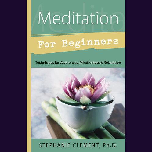 Meditation for Beginners | SmokyMountainBeads.com
