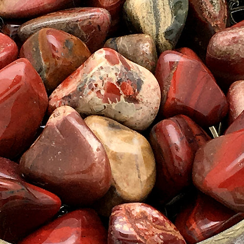 Rainbow Jasper Tumbles • South Africa • Small