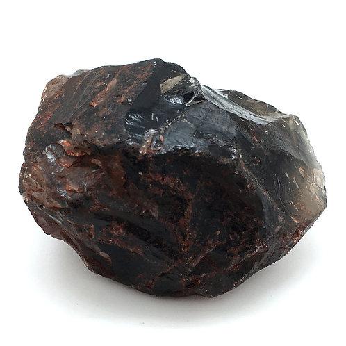Apache Tear Obsidian Rough • Mexico • 389.7 grams ~ 89x71x55mm