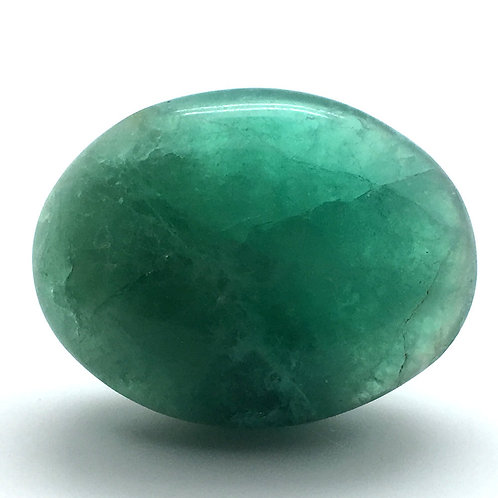 Phosphorus Fluorite Palm Stone • Madagascar • 124.6 grams ~ 64x49x22mm