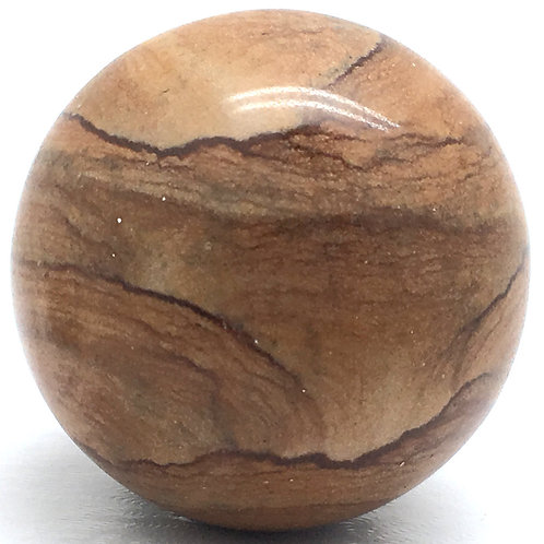 Picture Jasper Sphere • Brazil • 87.3 grams ~ 41.2mm