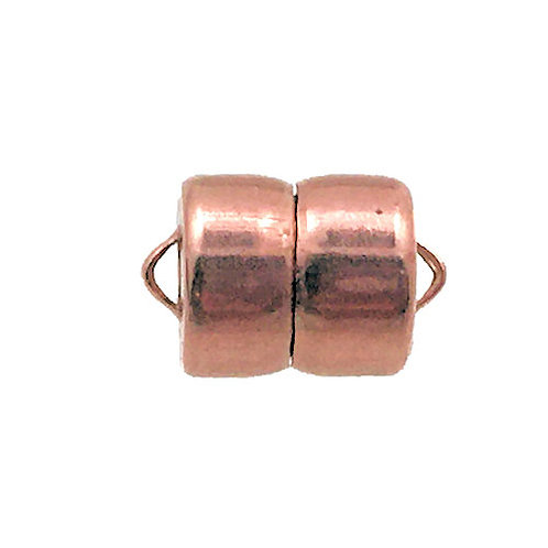 Magnetic Clasp • MAG-LOK® • 12x8mm • Copper • 44MAG-166-1208-18 | Smoky Mountain Beads