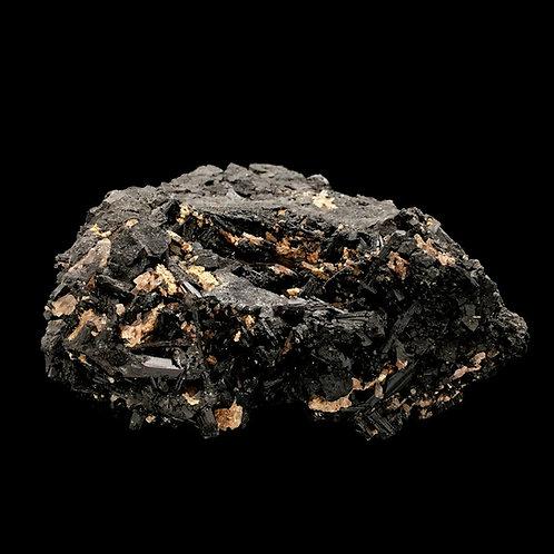 Tourmaline • Sphalerite • Quartz • Brazil • 414.4 grams ~ 101x84x46mm