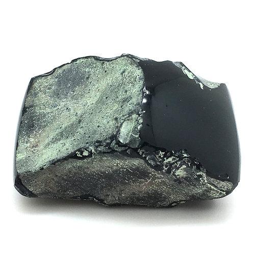Rainbow Obsidian Polished Face • Mexico • 96.7 grams ~ 59x44x33mm