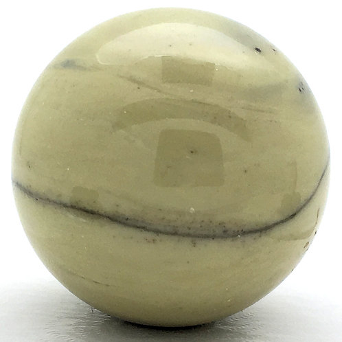 Serpentine Sphere • Brazil • 85.9 grams ~ 39.8mm