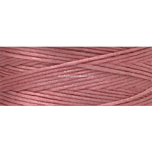 Rosy Mauve • Nymo® Nylon Thread • Size D | SmokyMountainBeads.com