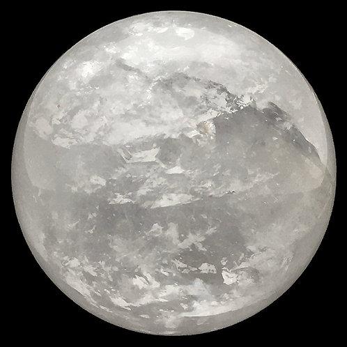 Quartz Crystal Sphere • Brazil • 174.8 grams ~ 50.3mm