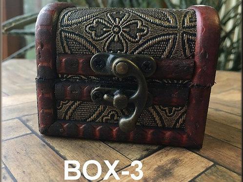 Treasure Chest Trinket Box ~ Style 3