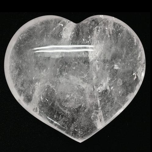 Quartz Heart • Madagascar • 518.4 grams ~ 102x95x43mm